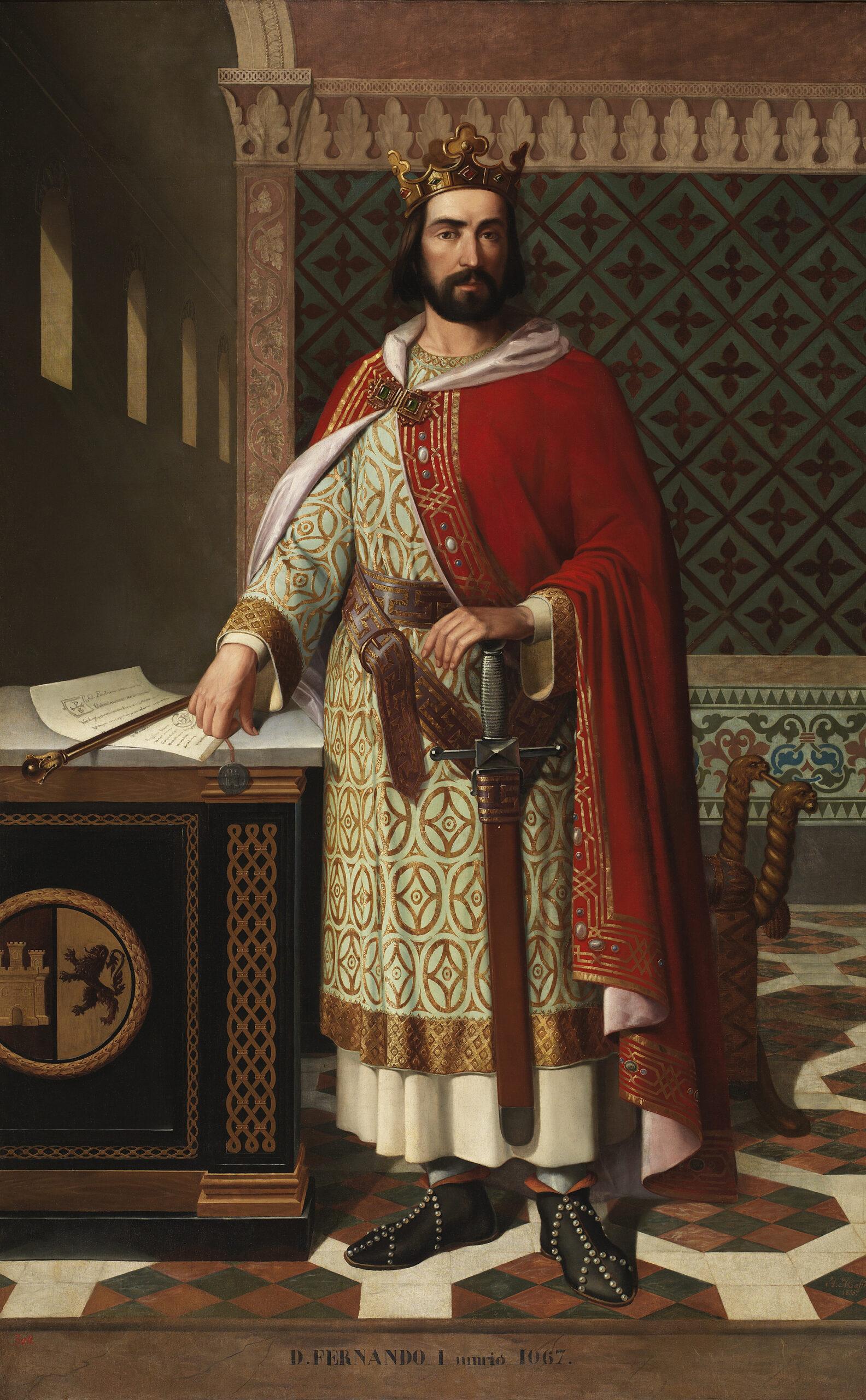 Mi villa Arévalo - Fernando_I, rey de Castilla y León